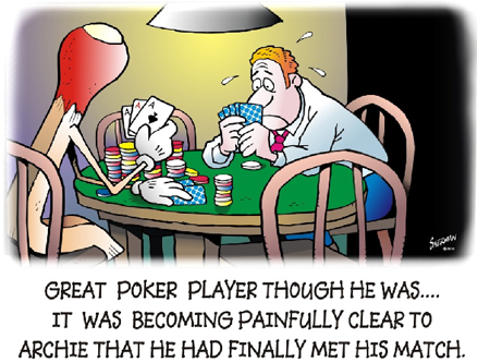 Poker monsters under bed