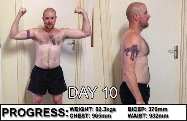 Tapout XT Day 10 Side by Side