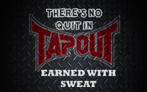 Tapout earned with sweat 3